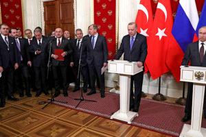 «Мы ударим»: Путин и Эрдоган остановили войну, но не угрозы в турецких СМИ