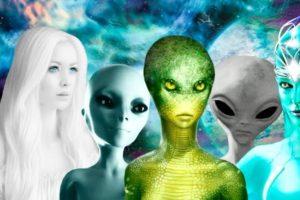 Какие виды пришельцев чаще всего посещают Землю
