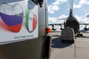 La Stampa — против, итальянцы — за: «Русский десант» в Италии заставляет Запад скрипеть зубами
