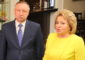 Губернатор Петербурга из-за коронавируса попросил о помощи Валентину Матвиенко
